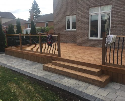 Deck contractor king city