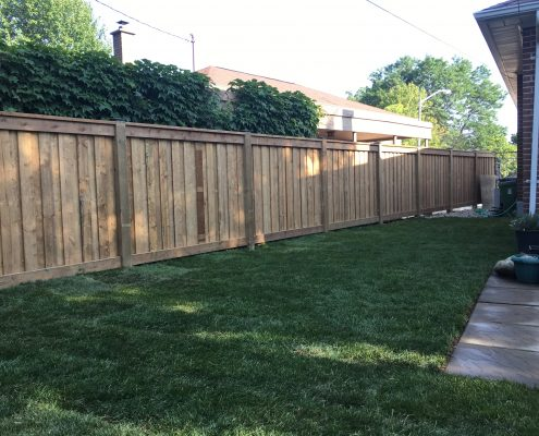 Pressure treated fence contractor