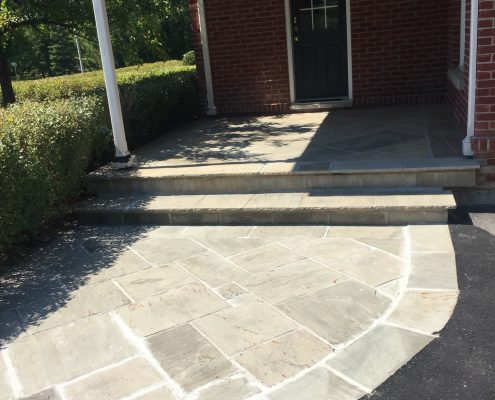 flagstone walkway contractor