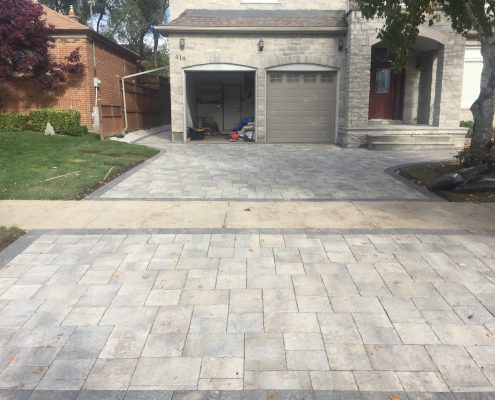 interlocking driveway ideas