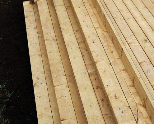 Wooden Steps, deck steps