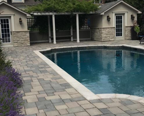pool deck landscaping