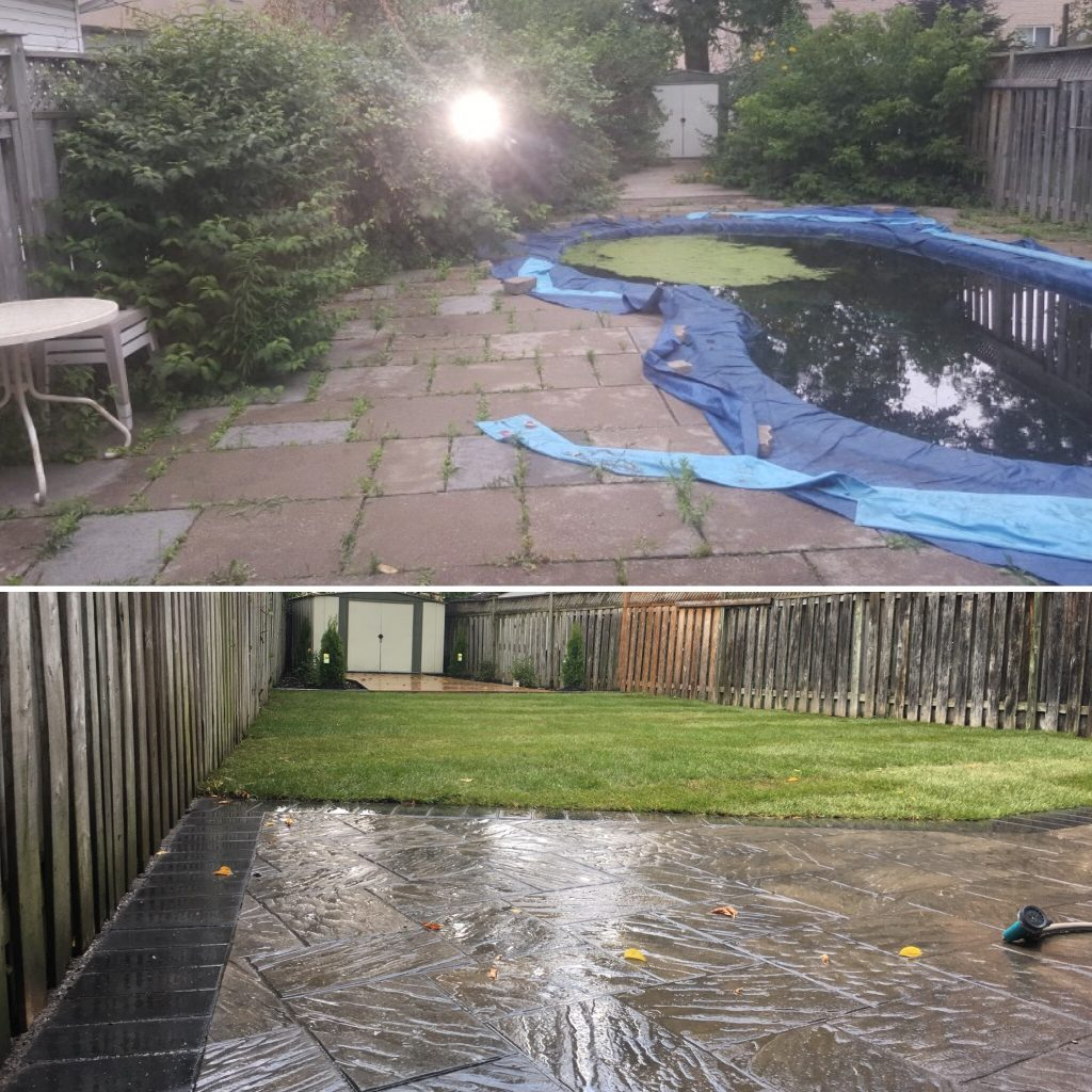 Pool Demolition in Toronto
