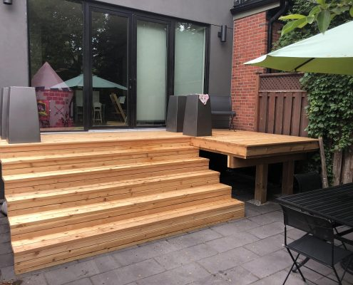 Backyard Cedar Deck