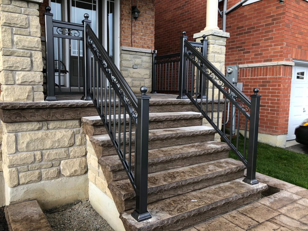 Aluminum Railing Installation in Toronto