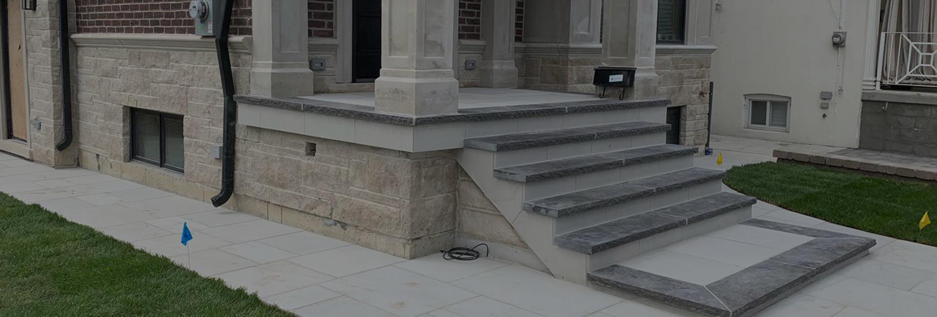 Flagstone installation services